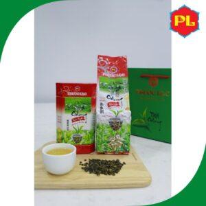 Trà Oolong Kim Tuyên Phước Lạc Hộp Giấy Đỏ 250g