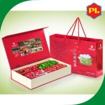 Hộp Trà Tết đặc biệt 500g - Trà ô long (oolong) Kim Tuyên Phước Lạc hộp đỏ