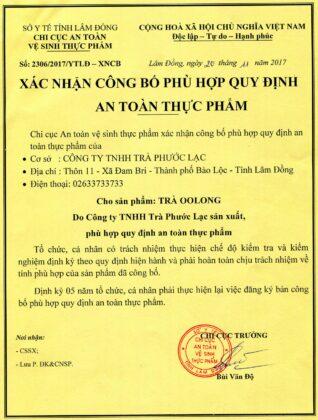 VSANTTP Tra Phuoc Lac